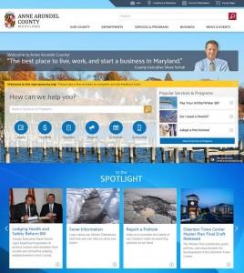 AA County Website