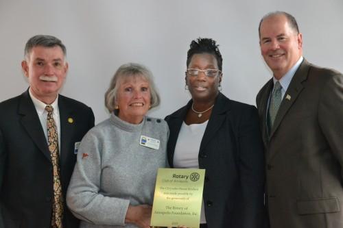 Annapolis Rotary  - Chrysalis House Promotion -2
