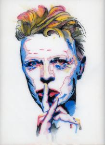 Mark Peria David Bowie Piece