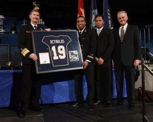Keenan Reynolds Jersey Retired