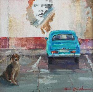 "Hai-Ou Hou, ""Che Guevara"", Oil at McBride Gallery"