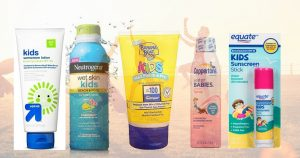 5 of the 7 Worst Sunscreens