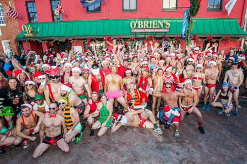 11th Annual Santa Speedo Run – THIS SATURDAY– REGISTER NOW