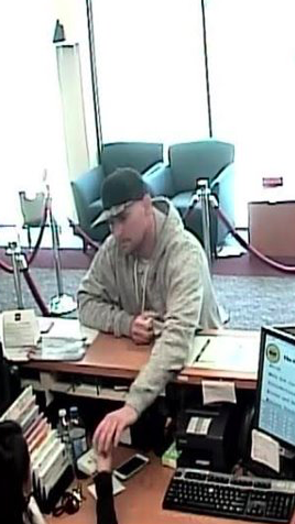 Bank Robbery Suspect Annapolis April 2017