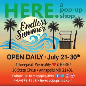 Here Pop Up Summer 2017