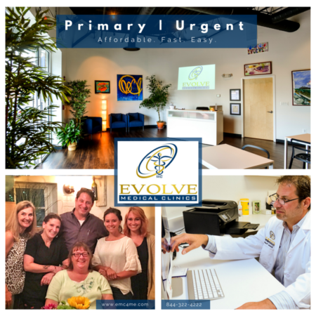 Evolve Medical Clinics primary care and urgent care