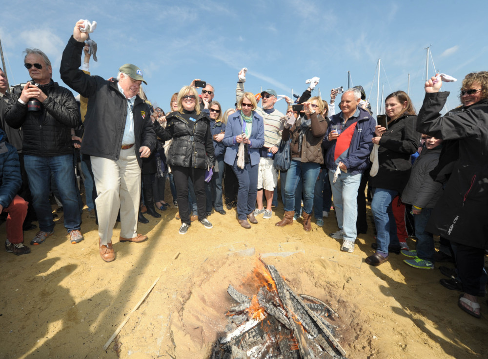 56 days until Spring, and 57 until the Annapolis Oyster Roast and Sock Burning