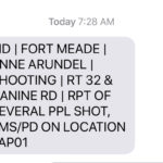 Shooting at Ft. Meade, suspect in custody