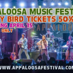 Appaloosa Music Festival announces headliners along with 50% off early bird discount