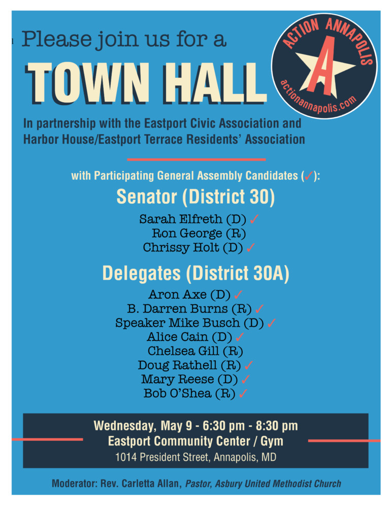 TOMORROW: Candidate forum for District 30/30A General Assembly candidates