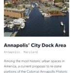 It's official, Annapolis named to Endangered List of Historic Places by National Trust