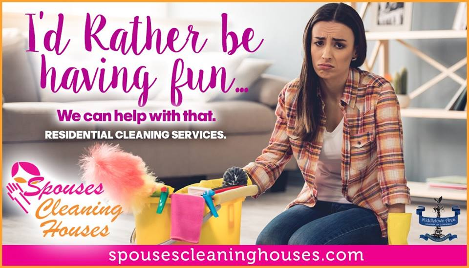 Spouses Cleaning Houses