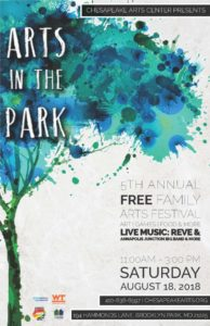 5th Annual Arts in the Park tomorrow