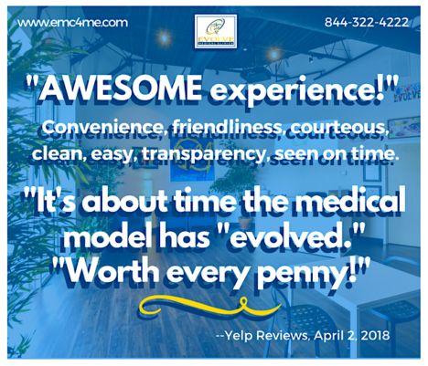 Evolve Medical, Maryland's first Direct Primary Care, provides the highest rated primary care and urgent care to Annapolis, Edgewater, Davidsonville, Crownsville, Severna Park, Arnold, Gambrills, Crofton, Waugh Chapel, Stevensville, Pasadena and Glen Burnie.