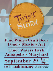 Get your tickets today for Twist & Stout