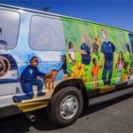 APD rolls through summer camps with new van provided by Annapolis Rotary Club