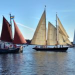 The Annual Great Chesapeake Bay Schooner Race Start Watch aboard the Schooner Woodwind II