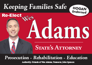 Elect Wes Adams | State's Attorney