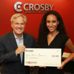 Crosby awards $5000 scholarship to Broadneck Senior