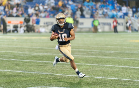 USNA's Malcolm Perry named to the Johnny Unitas Golden Arm Award Watch List