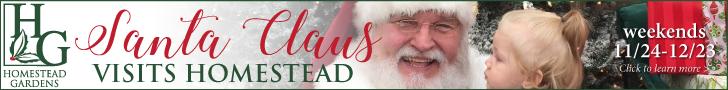 Homestead Gardens Santa