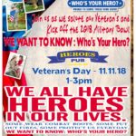 "Budweiser and the Military Bowl want to know ""Who's Your Hero?"""