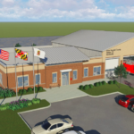 Schuh, Graves unveil design of new Jacobsville firehouse