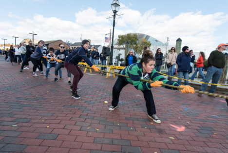 Annual Tug of War scheduled for crack of noon on this Saturday
