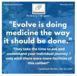 Evolve Direct Primary Care review Jan 2019