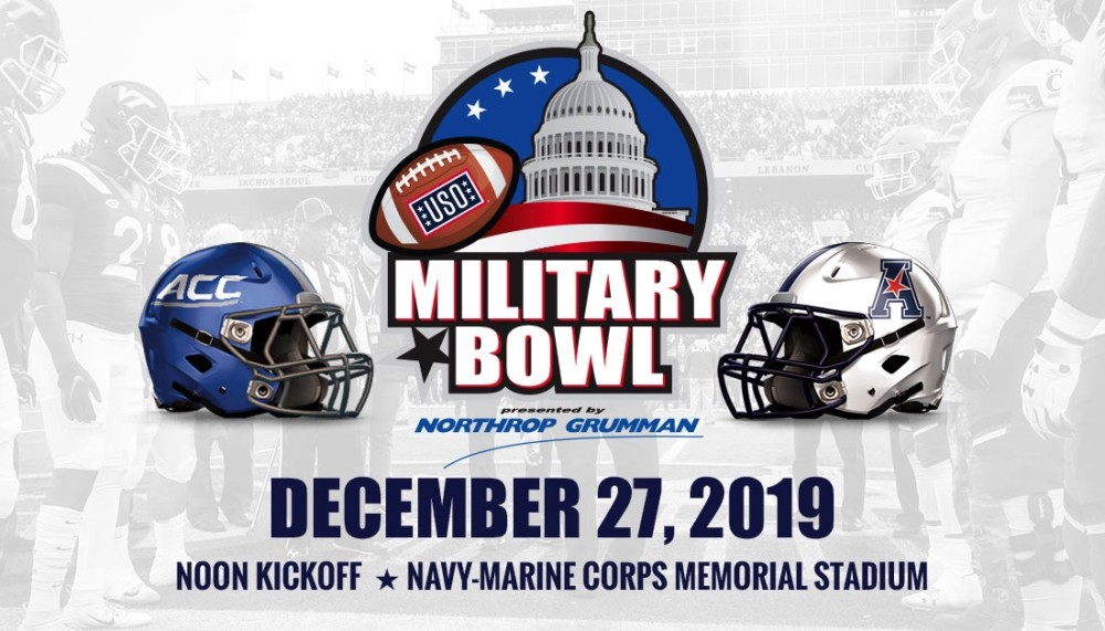 Military Bowl plans plenty of events for fans leading into the big game on December 27th
