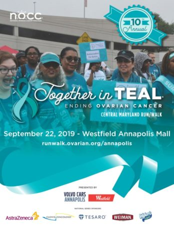 10th Together In Teal 5K Run | 3K Walk scheduled for September 22nd