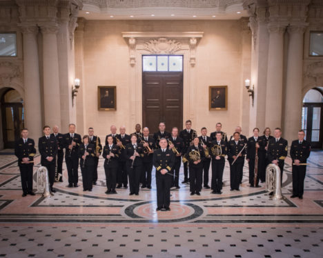 Free fall concerts by the USNA Band wrap up at Maryland Hall