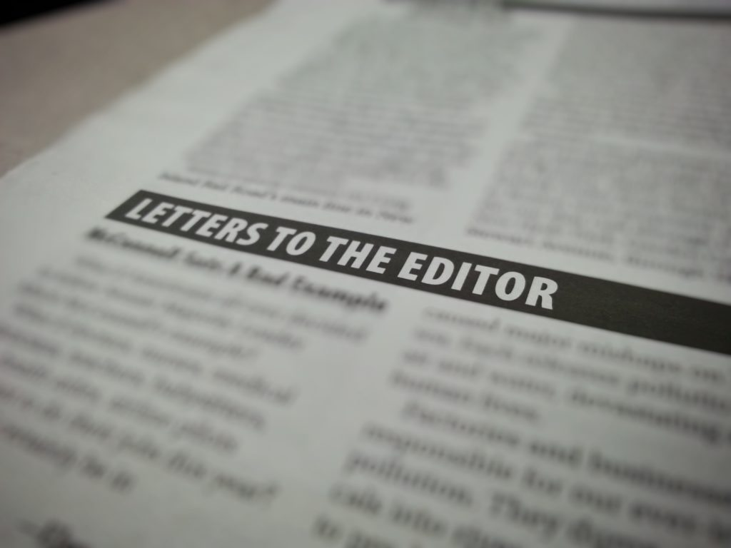 LETTER: Some Animals are More Equal Than Others