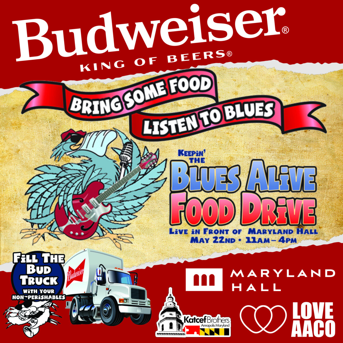 Blues Fest Food Drive