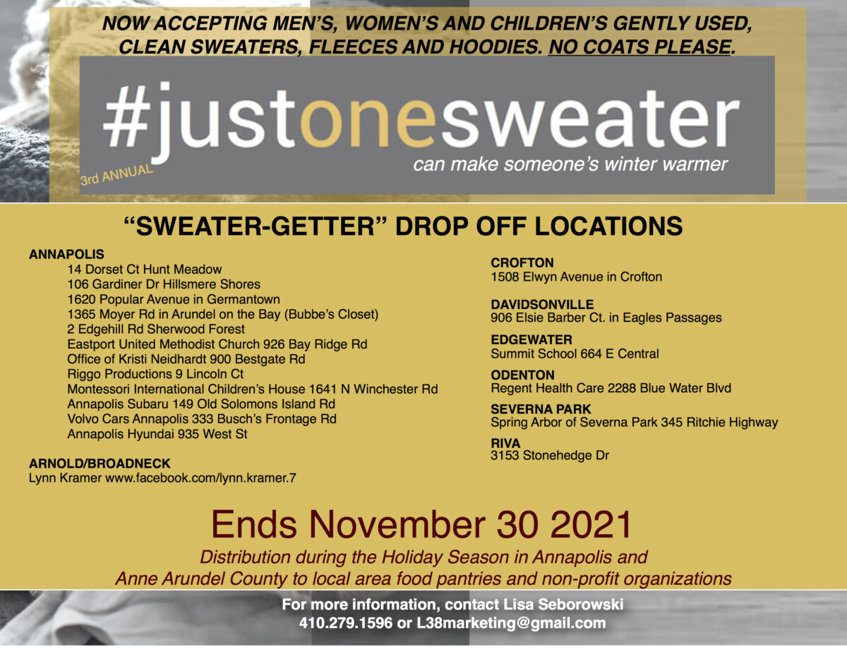 Just One Sweater